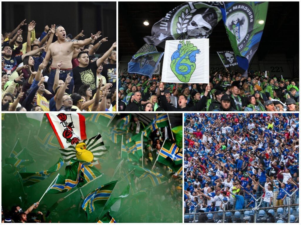 ¿Liga MX o MLS? Estas son las barras más importantes de ambas ligas unti...