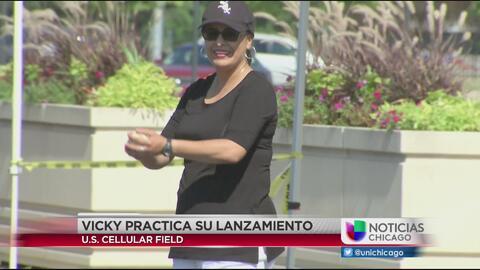 Vicky Aguilera lanzará la primera bola en un juego de White Sox