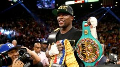Mayweather Jr. el mejor boxeador del 2013 para el CMB.