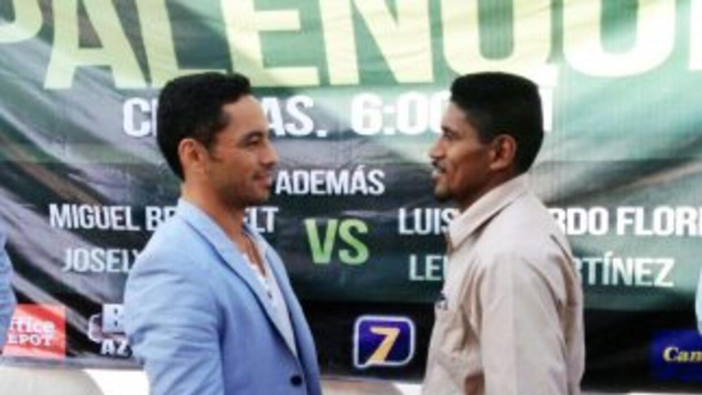 'Kochulito' y 'Lacandón' presentaron pelea (Foto: Zanfer)