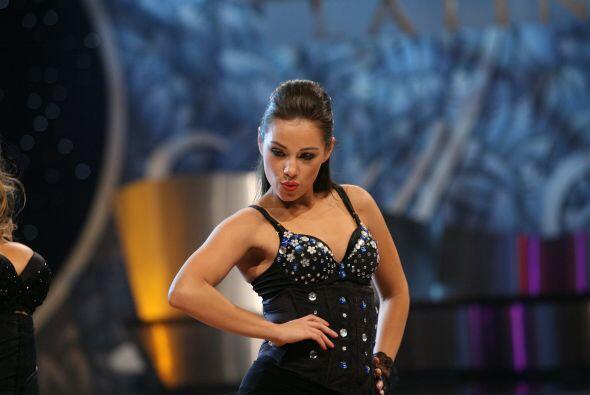La mexicana Angie Chávez hizo parte de la primera temporada.
