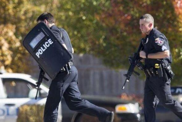 Los policías indicaron que hasta el momento no ha reportes de víctmas mo...
