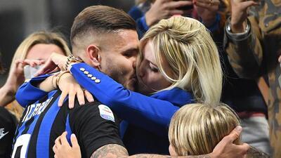 La apasionada celebración de Icardi con Inter que es tema de conversación en Italia