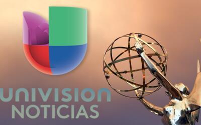 Las nominaciones de Univision Noticias a los premios EMMY.