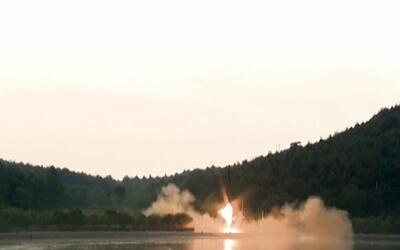 En video: El noveno ensayo de misiles de Corea del Norte en lo que va de...
