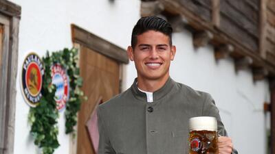 La celebración del Oktoberfest de las estrellas del fútbol de la Bundesliga