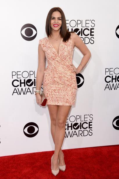 Otro de los vestidos que no nos gustó para nada fue el de Katie Maloney....