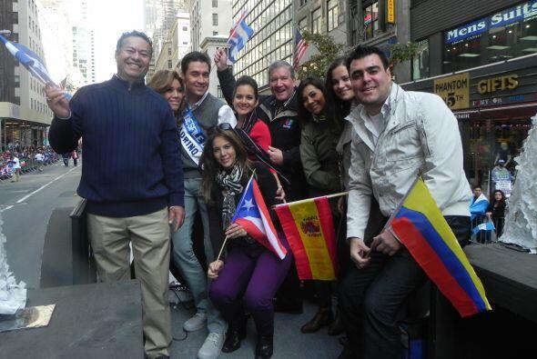 El equipo de Univision 41 se unió a las celebración del me...