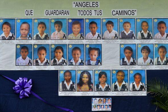 Treinta y tres niños murieron en el trágico incendio de un autobús en Co...
