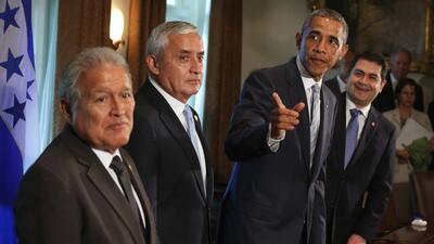 Obama trata crisis migratoria con mandatarios de Centroamérica