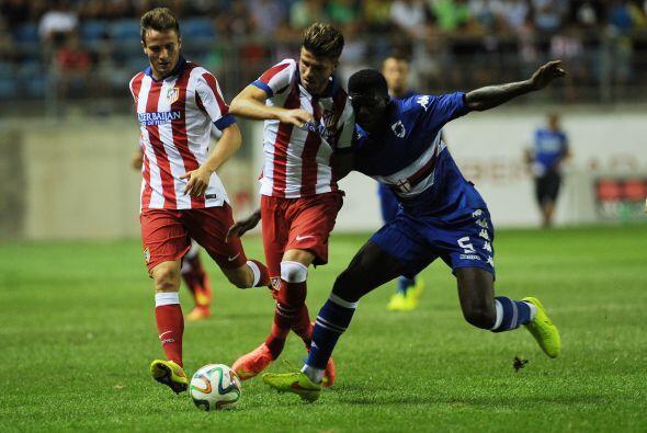 Sampdoria jugó muy defensivo y solo en la segunda parte trat&oacu...