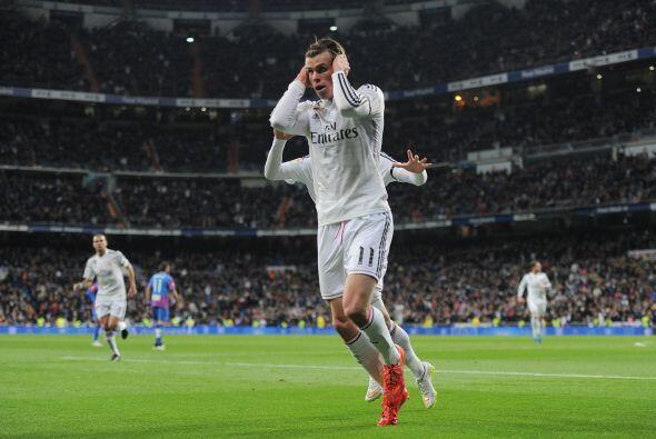 En la sexta posición se ubicó el galés del Real Madrid, Gareth Bale, 23....