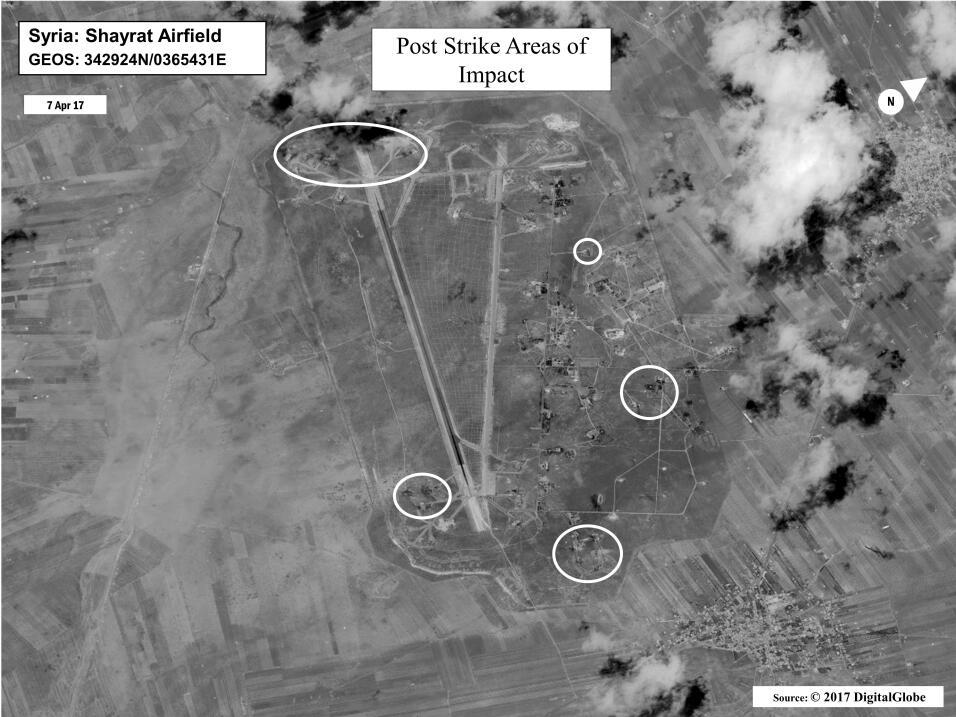 EEUU ataque Siria