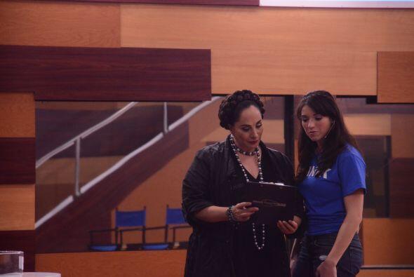 Susana demostró la fuerza actoral que tiene y Shanik se quiso contagiar.