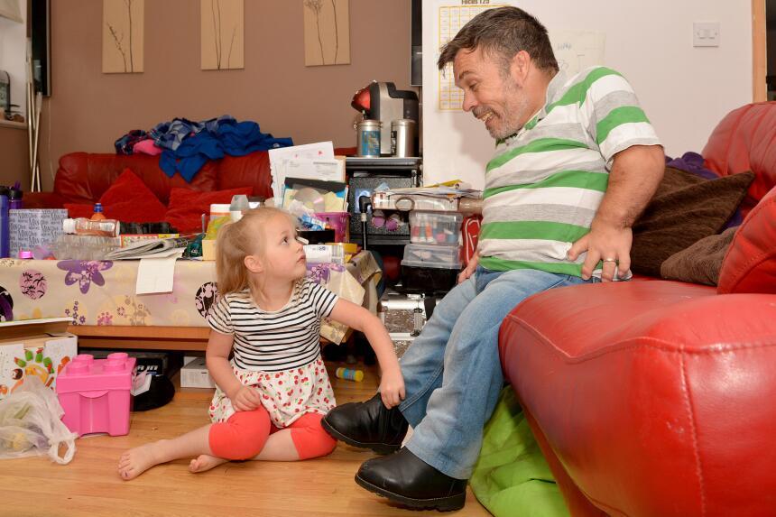 Una fuerte relación padre-hija