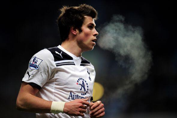 Un tipo que por las bandas es imparable es el galés Gareth Bale.