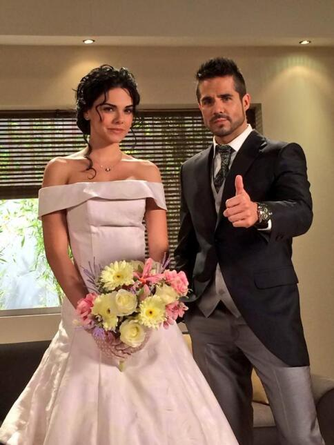 El amor de Livia Brito y José Ron traspasa la pantalla