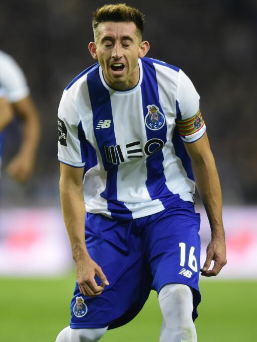 Lunes 18 de diciembre / 4:00 p.m. CT / Porto Vs. Marítimo: Héctor Herrer...