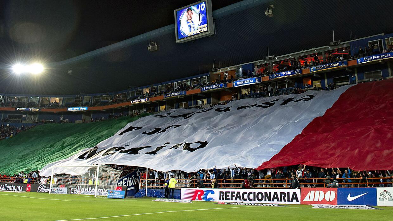 El mundo del deporte en México se volcó en apoyo a las víctimas del terr...