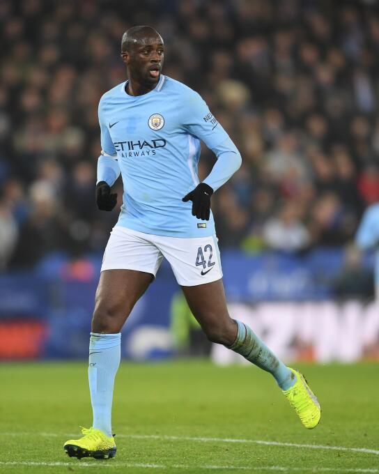 15. Yaya Touré - Goles: 4 - Oportunidades: 28 - Porcentaje de éxito: 14,29%
