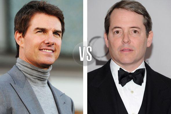 Tom Cruise y Matthew Broderick tienen dos cosas en común, el talento y s...