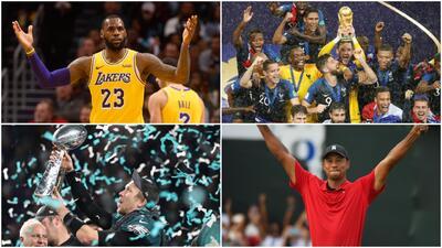 El Mundial, LeBron, Tiger Woods... Los 10 eventos que marcaron el deporte en este 2018
