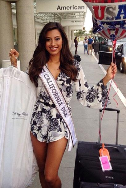 Natasha Martinez, Miss California