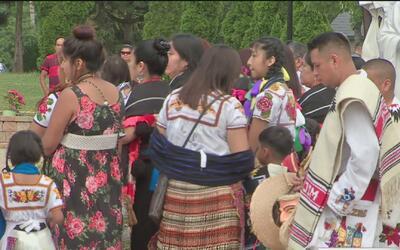 Michoacanos se reunieron con sus familiares en Illinois gracias al progr...