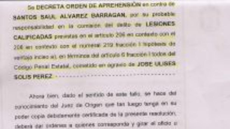 Orden de aprehensión a Saúl 'Canelo' Álvarez (Foto: Cortesía Ulises Solís)