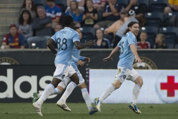 Después de ganar tras once partidos, el New York City FC buscará el triu...