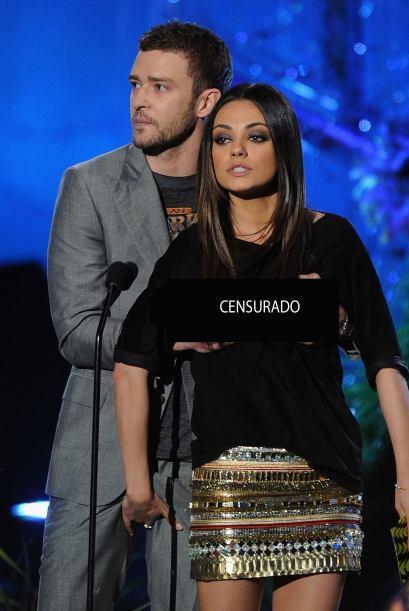 ¿Recuerdan cuando Justin Timberlake le tocó los senos a Mila Kunis en un...