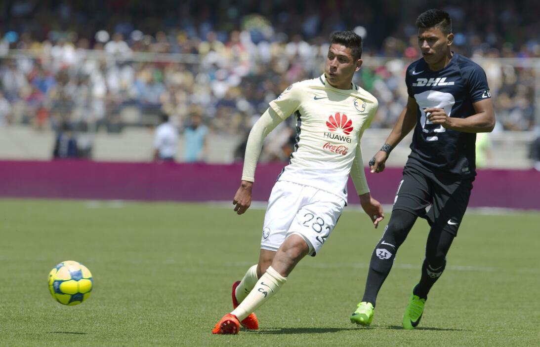 América sufrió, pero al final derrotó 3-2 a los Pumas en CU 022 Edson Ál...