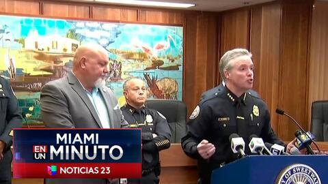 'Miami en un Minuto': en libertad bajo fianza uno de los policías involu...