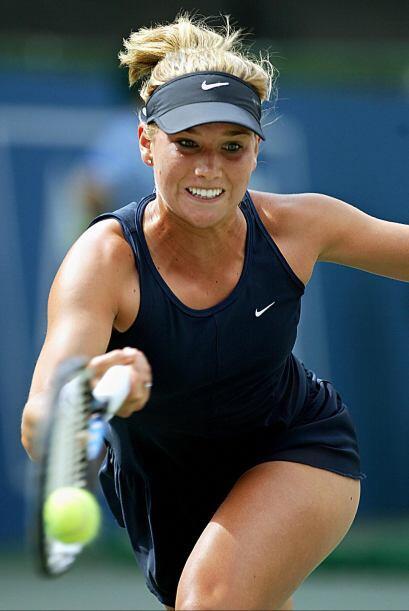 Ashley está casada con el ex jugador ATP Chuck Adams.