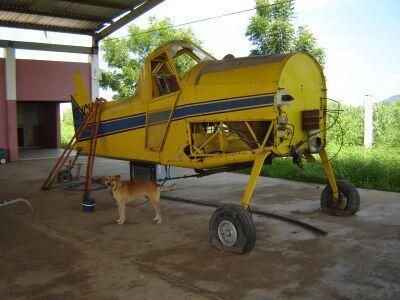 Aeronave Air Tractor. Se vende en el estado físico y mecánico en el que...