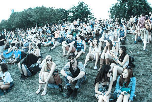 El sábado bandas como The National, The Lumines, Mumford & Sons y The P...