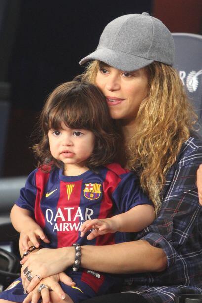 Aunque la colombiana ha demostrado en la redes sociales que su hijo tien...