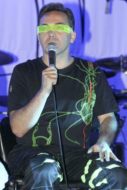 El cantante ahora tiene un grupo de rock metal que se llama La Esfinge.