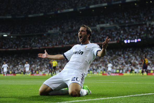 El 'Pipita' ponía el 1-0 y este gol hacía justicia a un Madrid que estab...