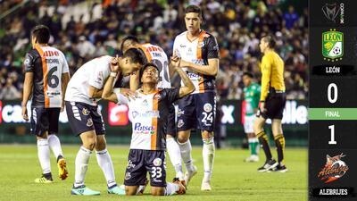 Alebrijes fue más Fiera y sorprendió ganándole a León en su debut en la Copa MX