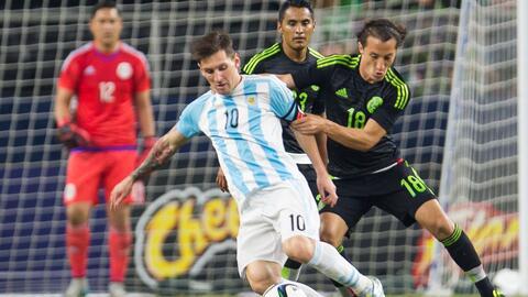 Sin duda México fue superior contra Argentina en el empate