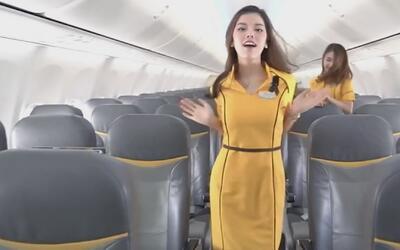 Azafatas de una aerolínea tailandesa conquistan las redes sociales a rit...
