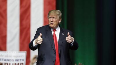 Donald Trump obtuvo esta semana los niveles más bajos de aprobación desd...
