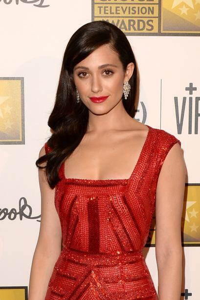 "Emmy Rossum La actriz de ""Poseidon"" y ""The Phantom of the Opera"" le pidi..."