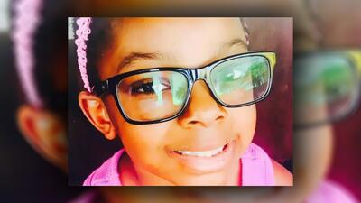 Sanaa Cunningham, de 7 años, murió en febrero de 2017, después de que su...