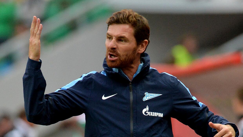 Villas-Boas encaró al árbitro tras ser expulsado de un partido del Zenit.