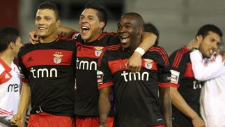 El benfica sigue bien parado en el liderato de la liga portuguesa.