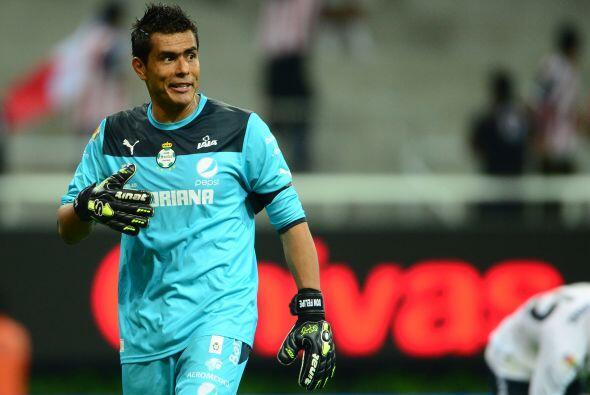 Oswaldo Sánchez sigue aumentando la marca de un jugador con más partidos...