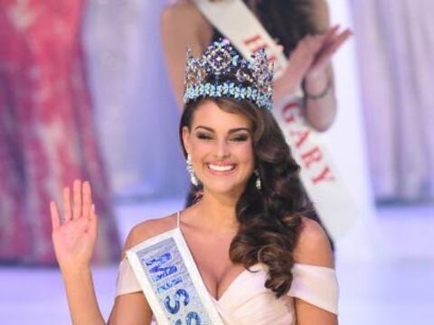 Rolene Strauss, de Sudáfrica, fue elegida Miss World 2014 este do...