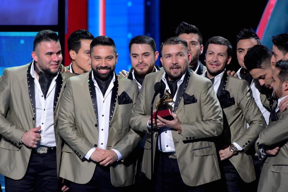 Banda El Recodo de Cruz Lizárraga celebró su gramófono a Mejor Álbum de...